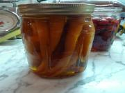 Pickled Young Carrots