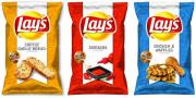 Lays three new potato chips flavors