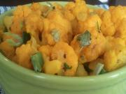 Quick Masala Gobhi- Spiced Cauliflower