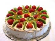 Marshmallow Pavlova Slice