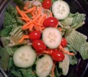 include salad in fat free menu