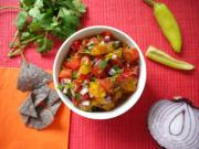 Heirloom Tomato Pico de Gallo - Easy Summer Side Dishes