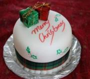 Cake for a Christmas BBQ