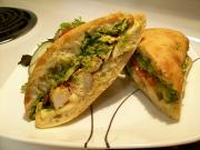 Pesto-Chicken Sandwiches