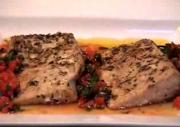 French Roasted Yellowtail With Sauce Vierge