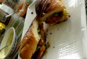 Grilled Veggie Sub Sandwich