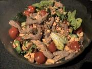 Zuza zak's Weeknight Dinners: Spicy Beef Salad