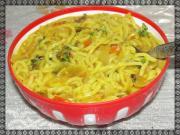 Maggi Noodles In Onion Tomato Masala