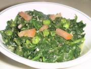 Palak(Spinach) Sabji