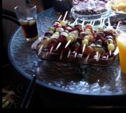 Fruit Kabobs With Catawba