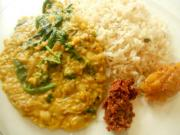 Pan Asian: Lentils Stewed in Coconut Milk (Parippu) - Sri Lanka