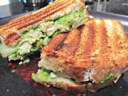 Grilled Chicken and Apple Sandwich