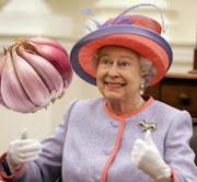 Queen Elizabeth hates garlic!