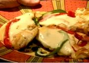 American Style Grilled Chicken And Peppers