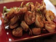 Chilli Prawns by Karen Ahmed for Kravings Blog