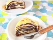Nutella Mille Crêpe Cake