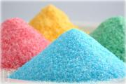 Different Colored sugar