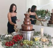 Foods for chocolate fountains