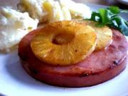 Gammon Steaks With Pineapple