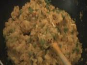 Potato Bhaji / Indian Stuffing (Aaloo Bhaji)