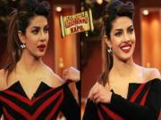 Priyanka Chopra's Dress Slips Off on Comedy Nights with Kapil 9th Feb 2014