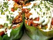Stuffed Peppers- How To Make Stuffed Bell Peppers (Loaded with Yumminess)