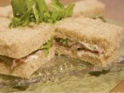 Roast Beef Tea Sandwiches