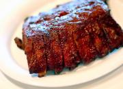Try to bake BBQ ribs instead of grilling