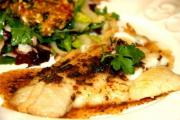 Plaice In Cider Sauce