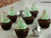 Mini Brownie Christmas Trees