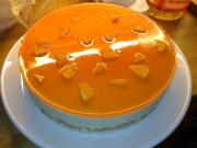 Orange Glazed Cheesecake