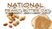 Peanut butter day is celebrated because it is a healthy thing to eat.