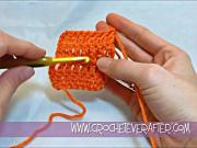 Left Hand Double Crochet Tutorial #15: Extended Double Crochet
