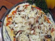 Easy Mushroom Pizza
