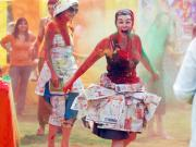 Holi party means fun and frolic