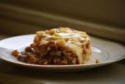Mushroom Beef Lasagna