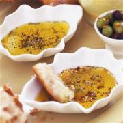 Making olive oil dip is quick, easy and hassle free.