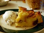 Microwave Quick Bread Pudding