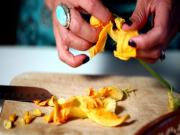 How to Prepare Squash Blossoms Quesadillas