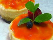Mango Cheesecake - Eggless