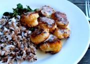 Scallops & Wild Rice