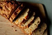 Orange Carrot Tea Bread With Caraway