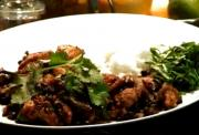 Chicken in Black Bean Sauce Oriental Style