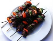 Broiled Liver Kebabs