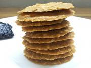 Crispy Thin Walnut Cookies