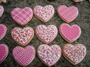 Healthy Valentines Day cookies