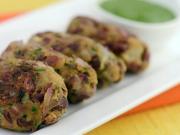 Rajma Kebab (Low Calorie Snack)