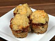 Mini Meatloaf with Potato Frosting
