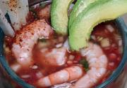 Gazpacho Shrimp Cocktail
