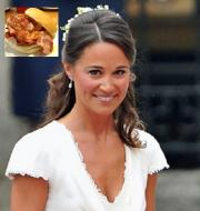 Pippa Middleton cooked bacon butties at her Best Friend's wedding.